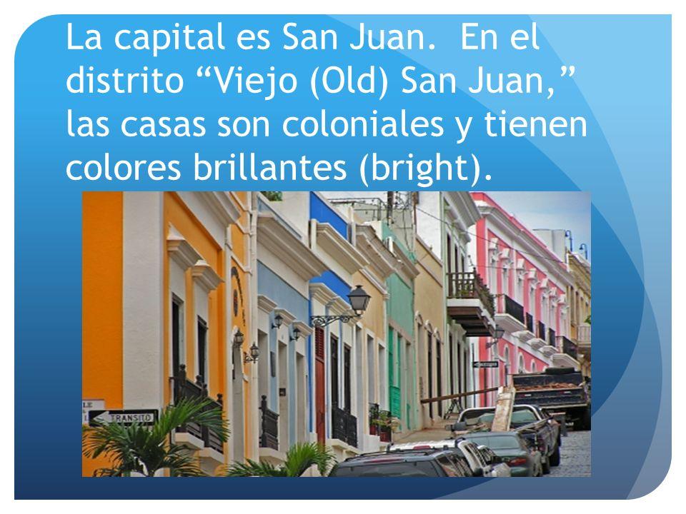 La capital es San Juan.