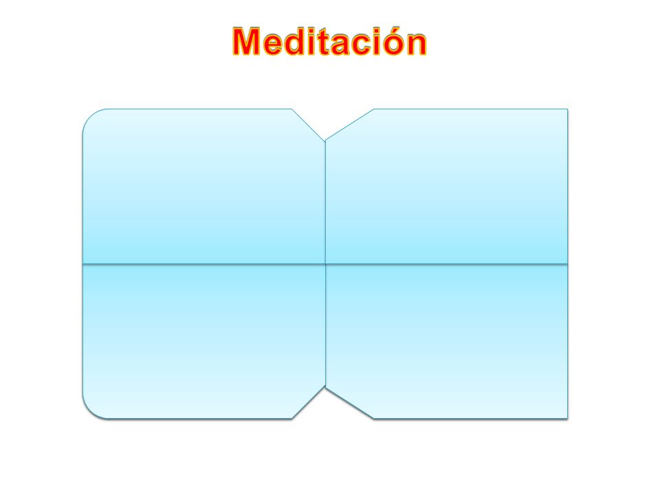 Meditación ¿Qué es lo que me dice Jesús que debo hacer para poder entrar en el Reino del Cielo