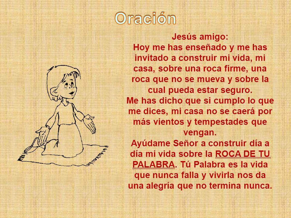 Oración Jesús amigo: