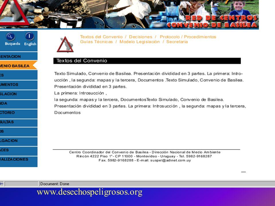 www.desechospeligrosos.org
