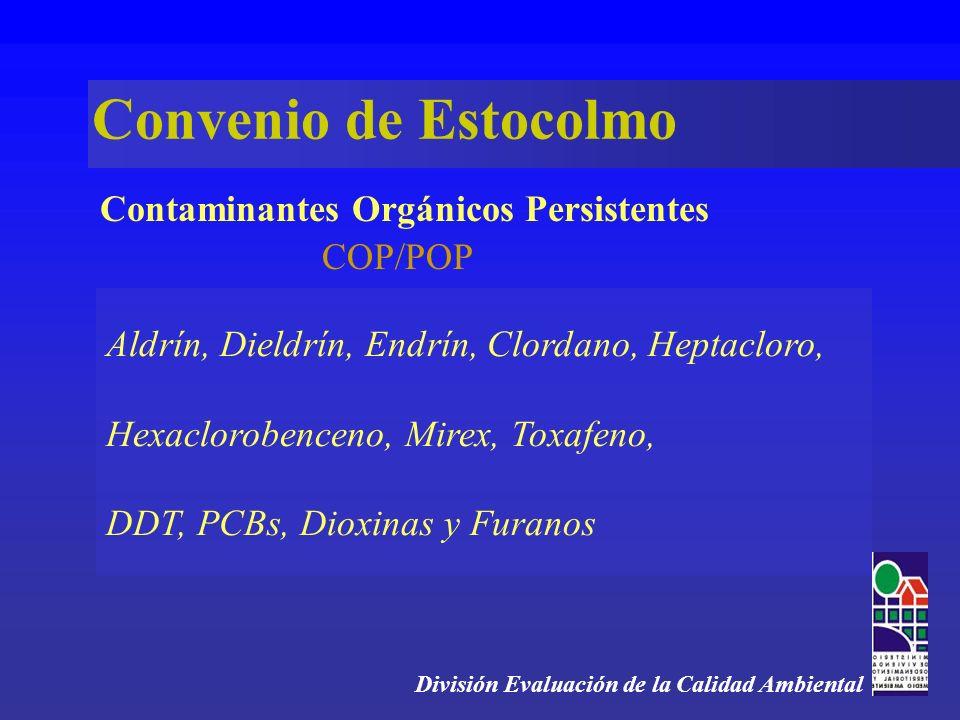 Contaminantes Orgánicos Persistentes