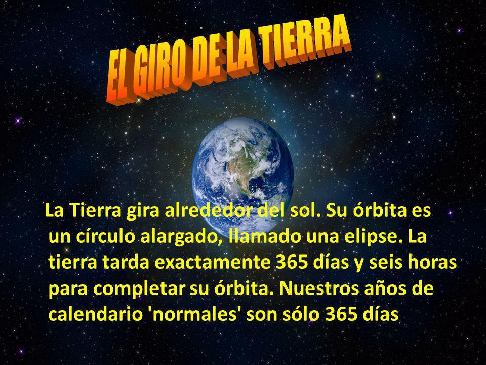 EL GIRO DE LA TIERRA