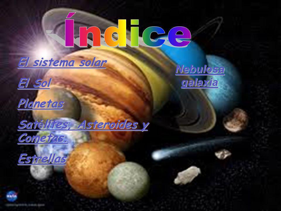 Satélites, Asteroides y Cometas. Estrellas