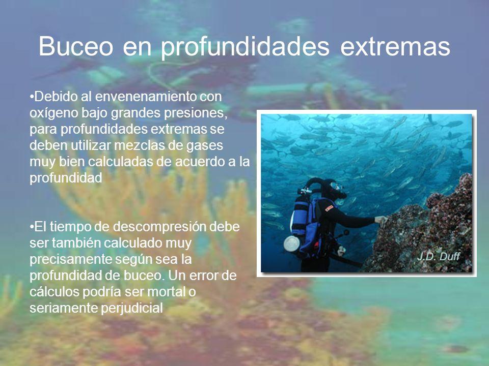 Buceo en profundidades extremas