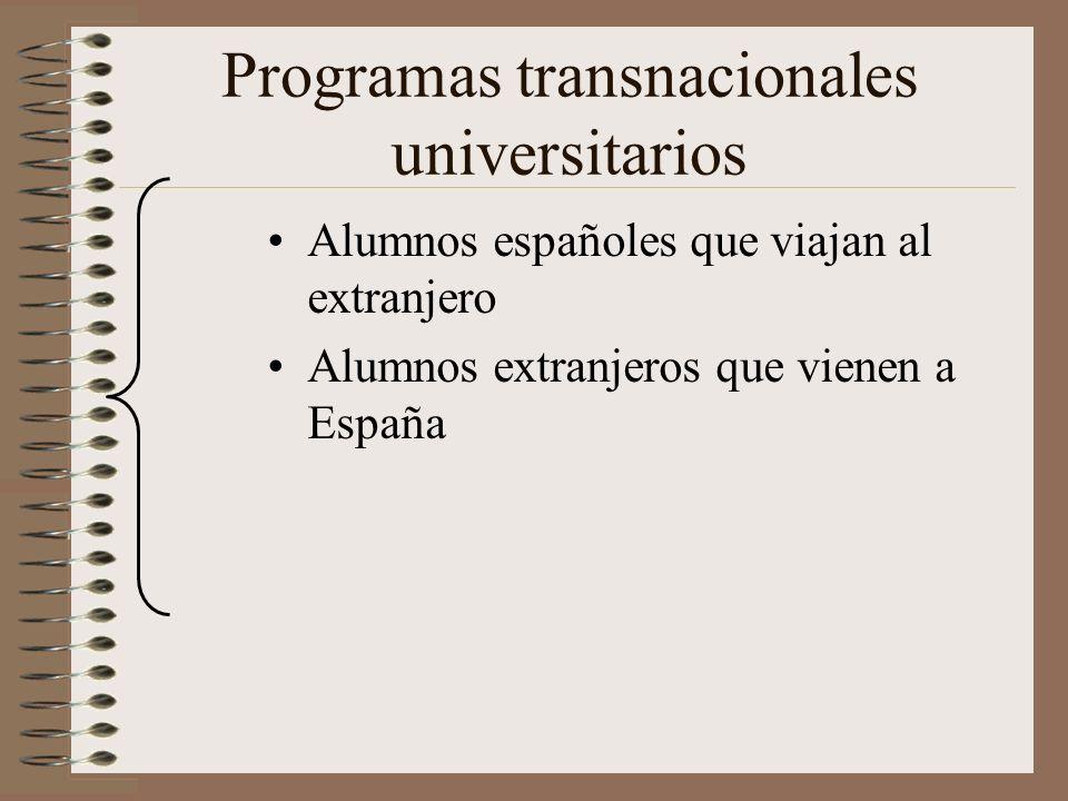 Programas transnacionales universitarios