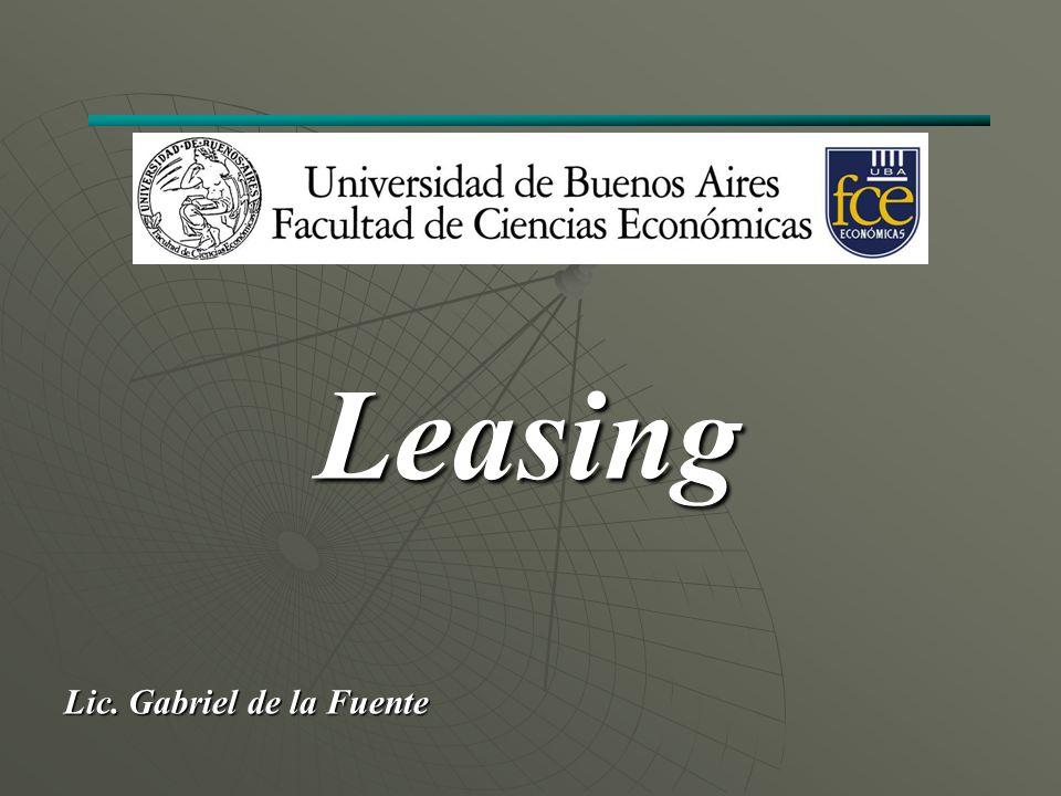 Leasing Lic. Gabriel de la Fuente