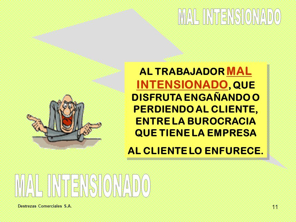 MAL INTENSIONADO MAL INTENSIONADO