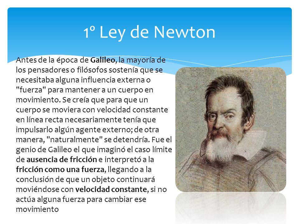 1º Ley de Newton