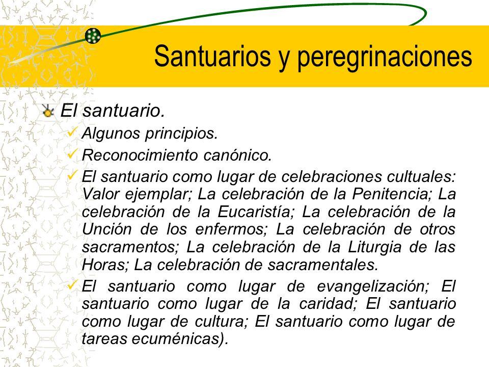 Santuarios y peregrinaciones