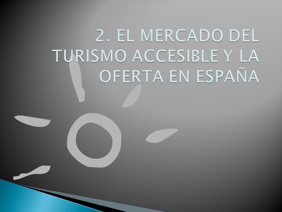 2. EL MERCADO DEL TURISMO ACCESIBLE Y LA OFERTA EN ESPAÑA