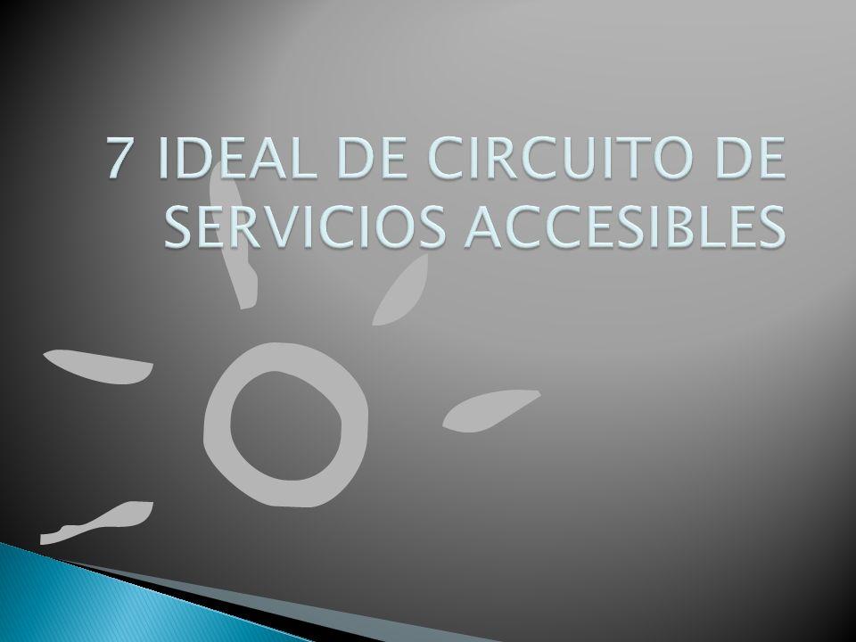 7 IDEAL DE CIRCUITO DE SERVICIOS ACCESIBLES