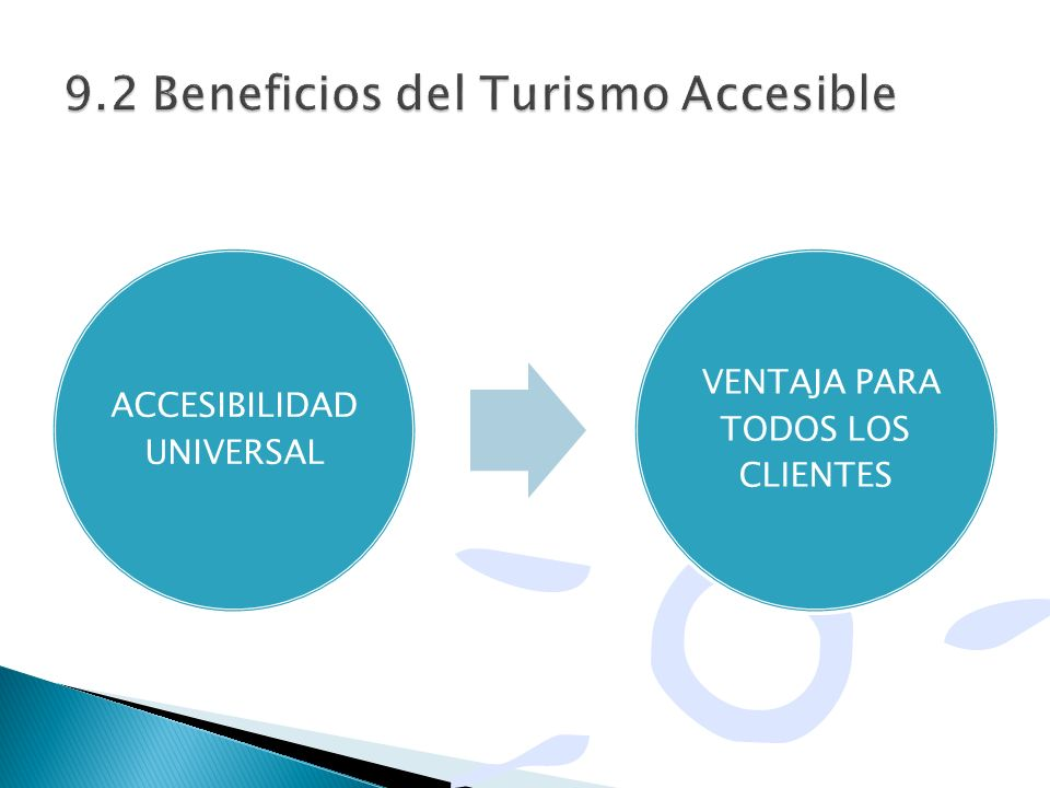 9.2 Beneficios del Turismo Accesible