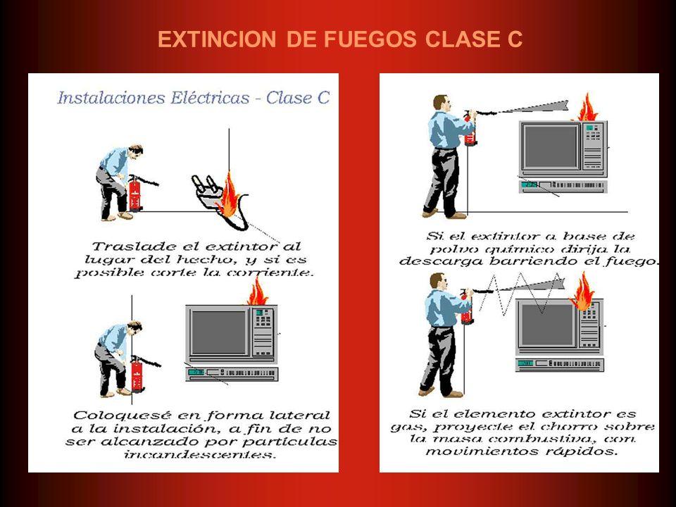 EXTINCION DE FUEGOS CLASE C