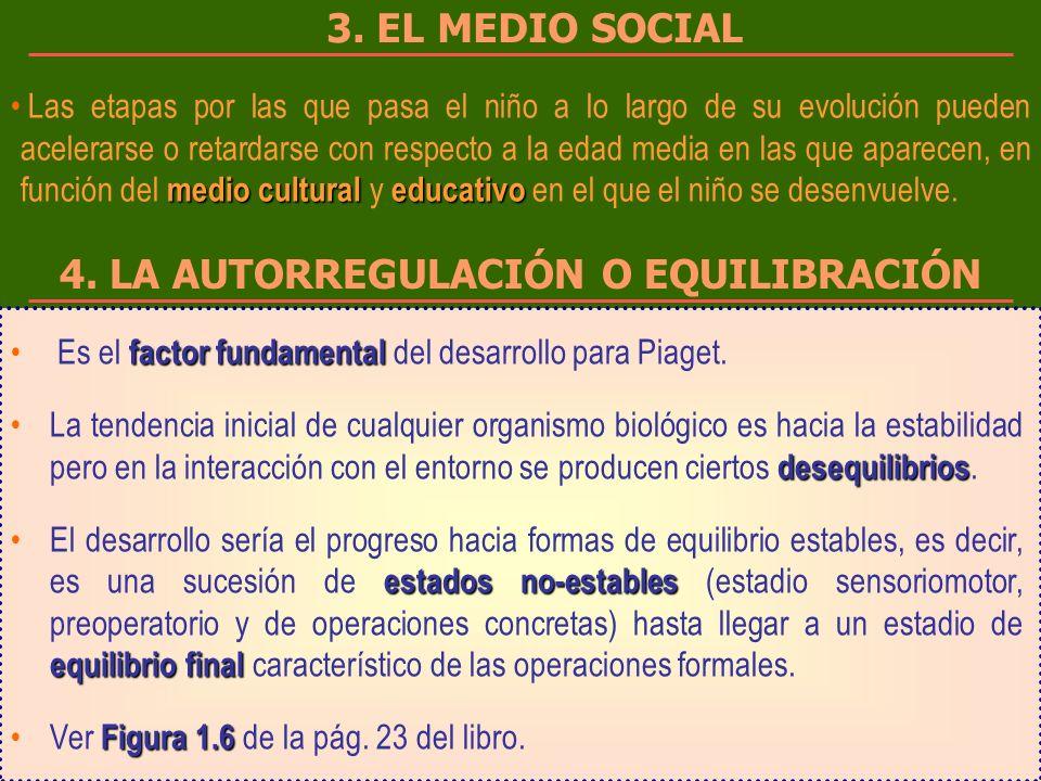 4. LA AUTORREGULACIÓN O EQUILIBRACIÓN