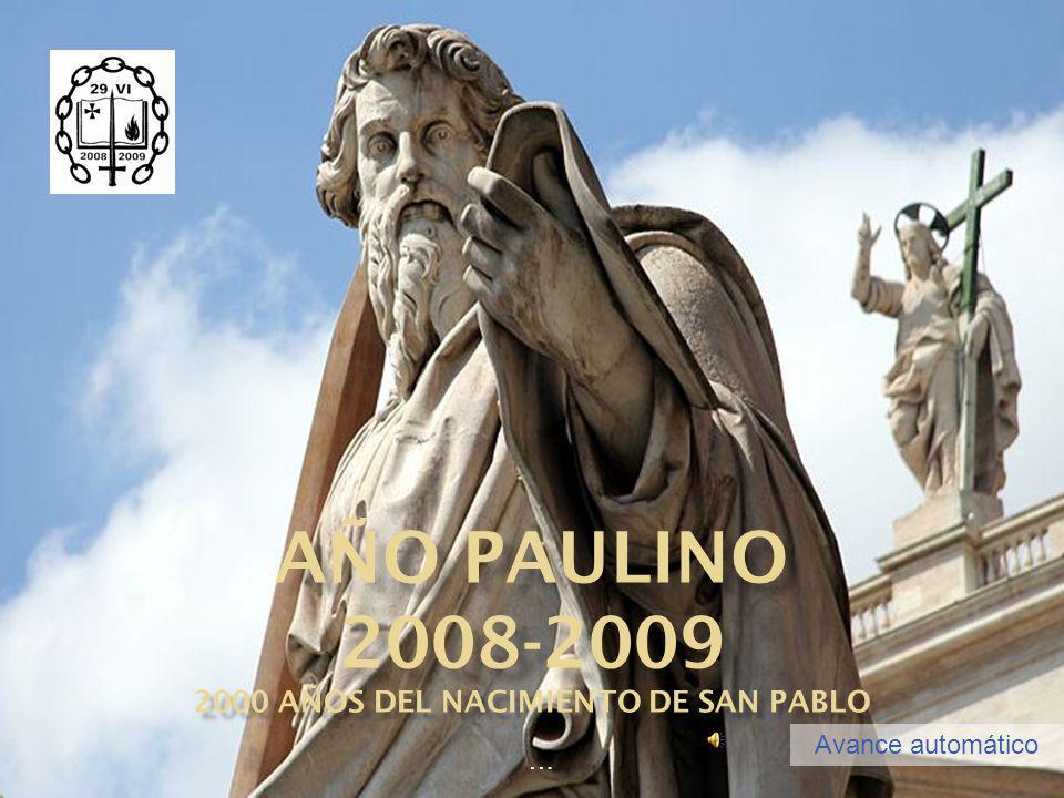 2000 años DEL nacimiento de San Pablo