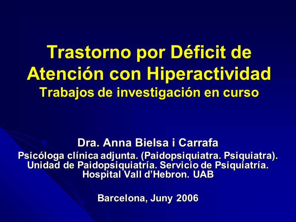 Dra. Anna Bielsa i Carrafa