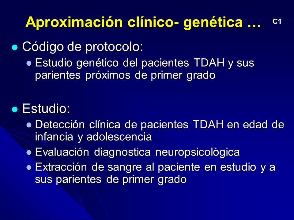Aproximación clínico- genética …