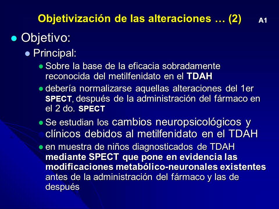 Objetivización de las alteraciones … (2)