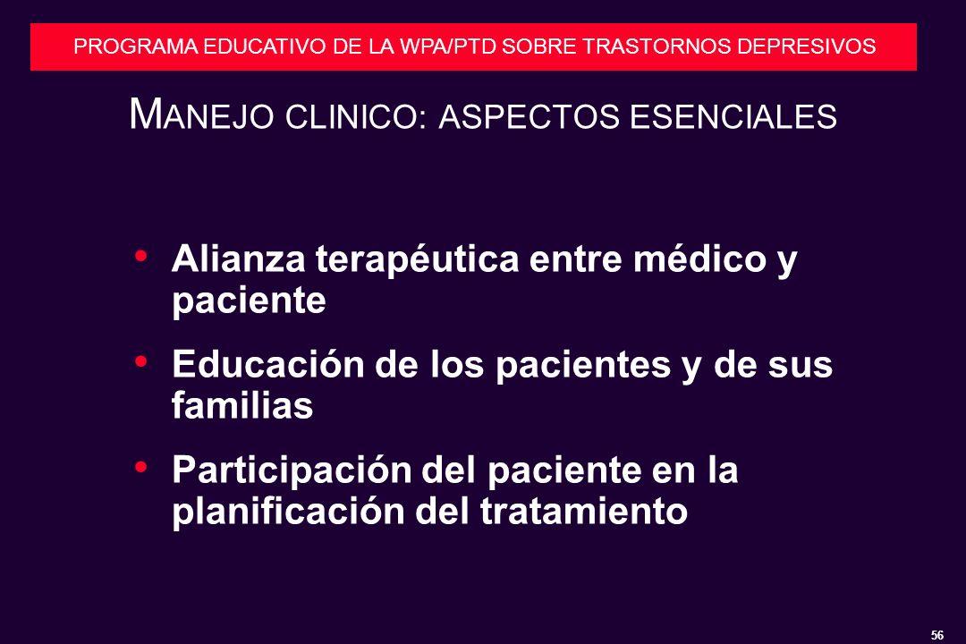 MANEJO CLINICO: ASPECTOS ESENCIALES