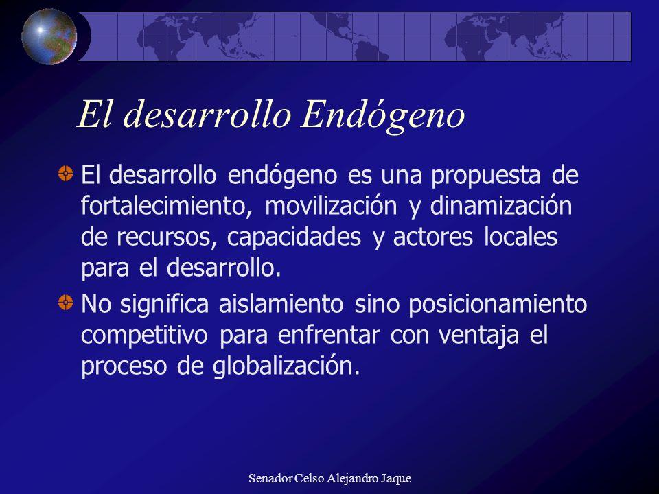 El desarrollo Endógeno