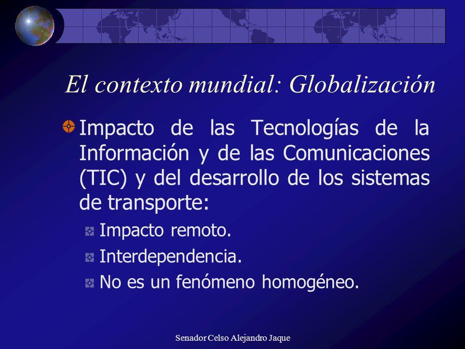 El contexto mundial: Globalización