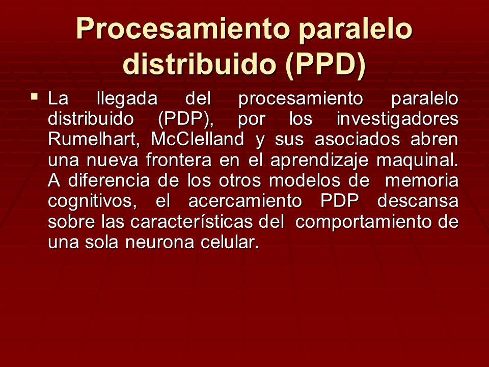 Procesamiento paralelo distribuido (PPD)