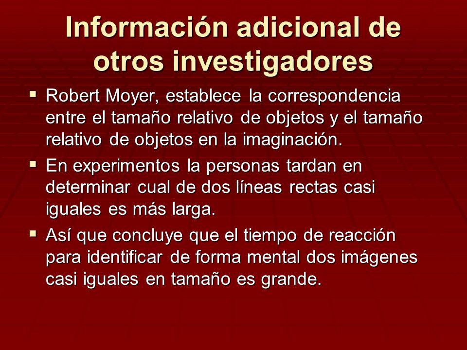Información adicional de otros investigadores