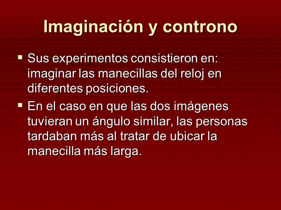 Imaginación y controno