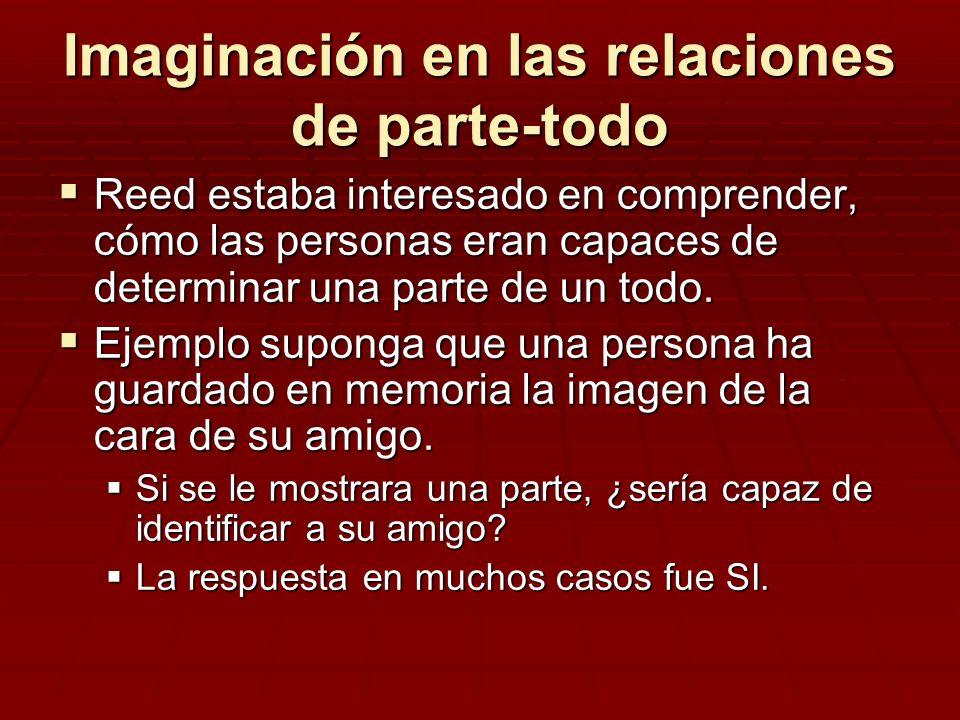Imaginación en las relaciones de parte-todo