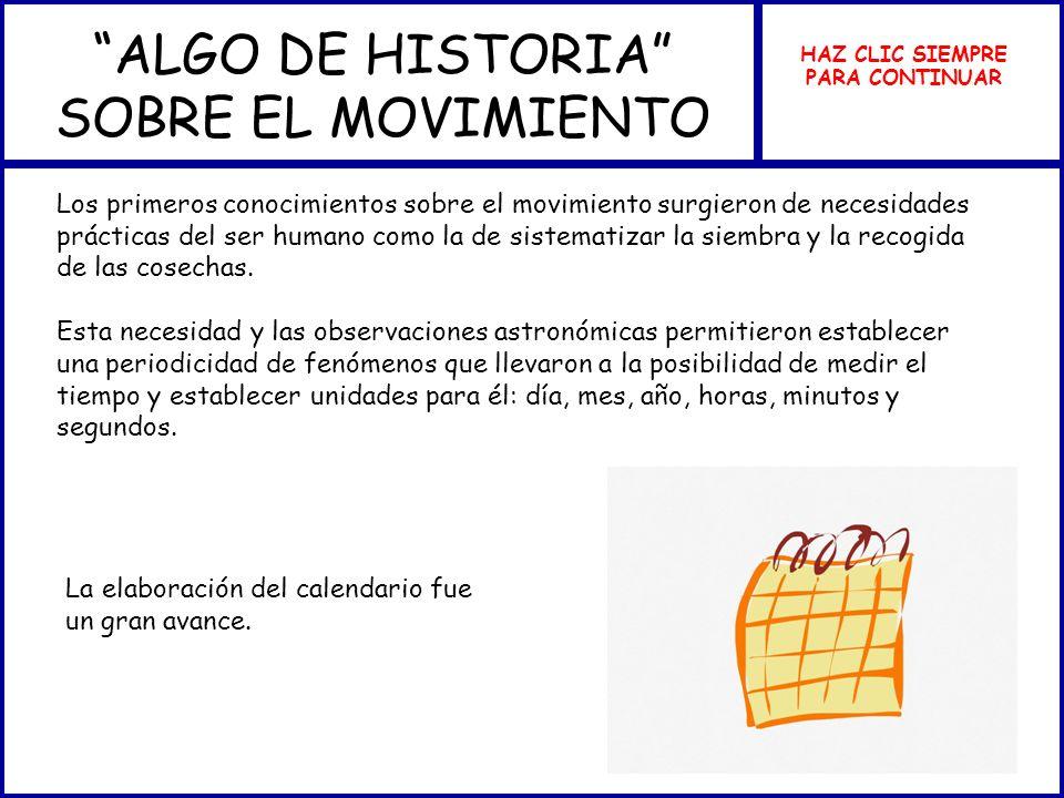 ALGO DE HISTORIA SOBRE EL MOVIMIENTO