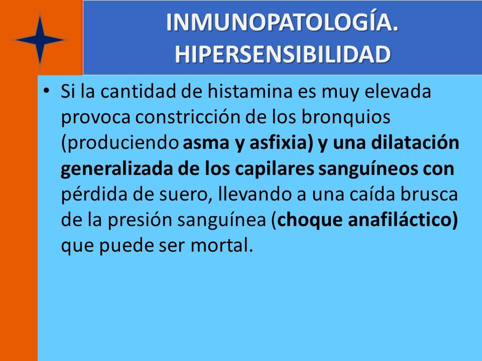 INMUNOPATOLOGÍA. HIPERSENSIBILIDAD