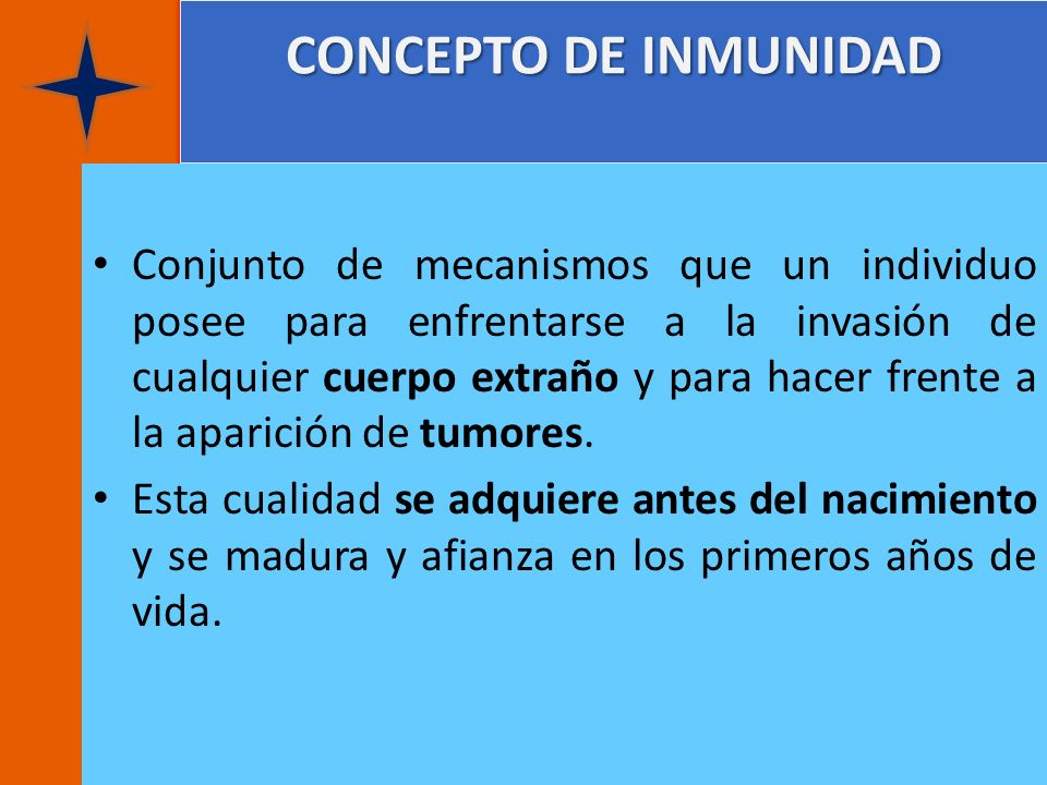 CONCEPTO DE INMUNIDAD
