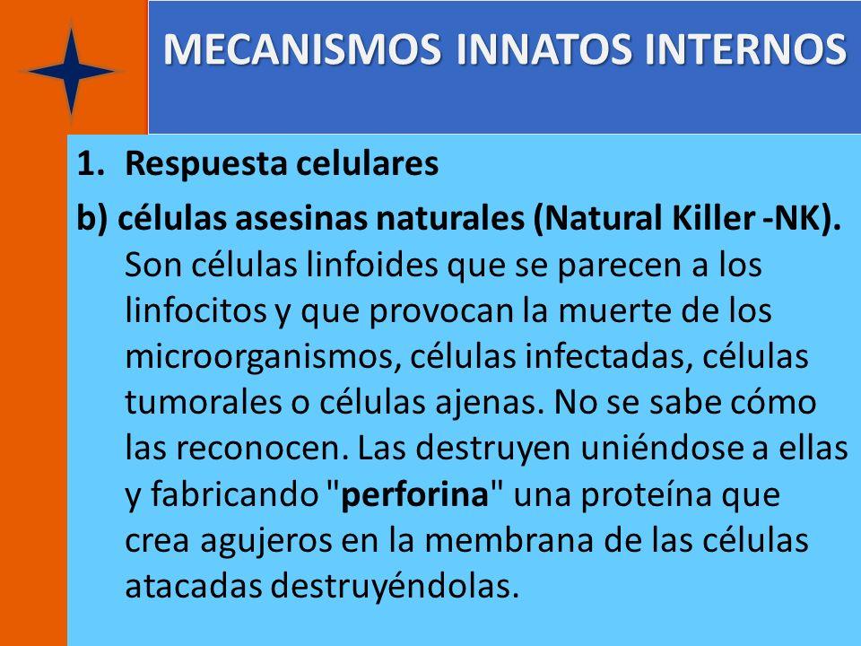 MECANISMOS INNATOS INTERNOS