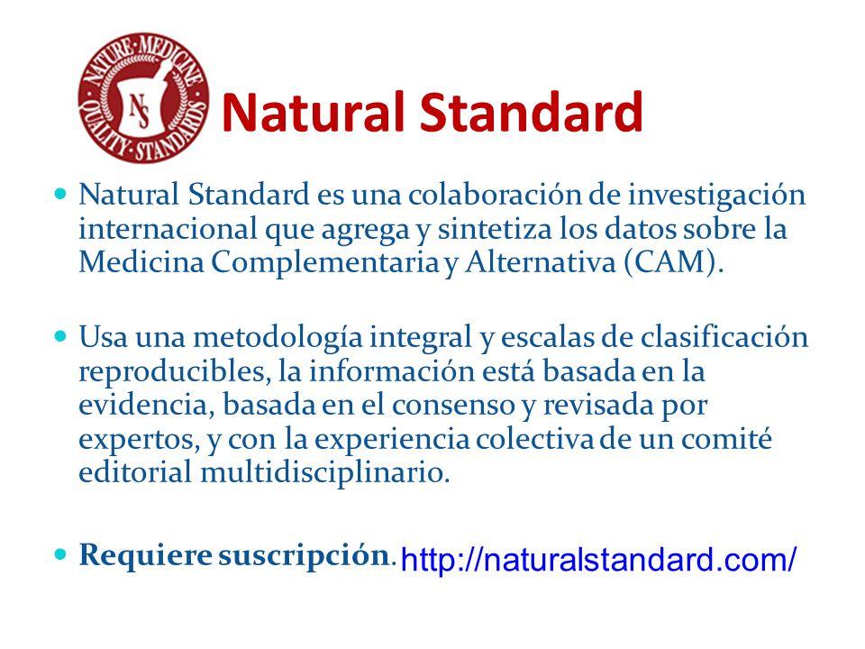 Natural Standard http://naturalstandard.com/