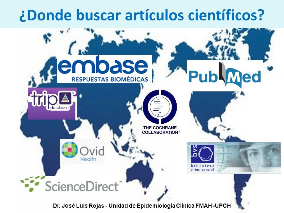 ¿Donde buscar artículos científicos