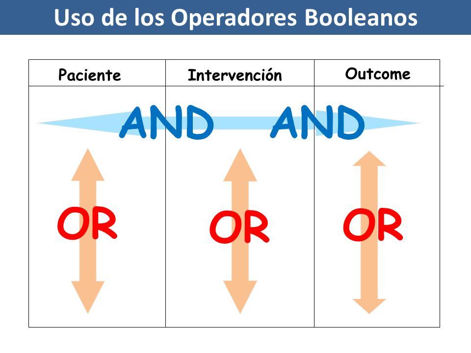 Uso de los Operadores Booleanos