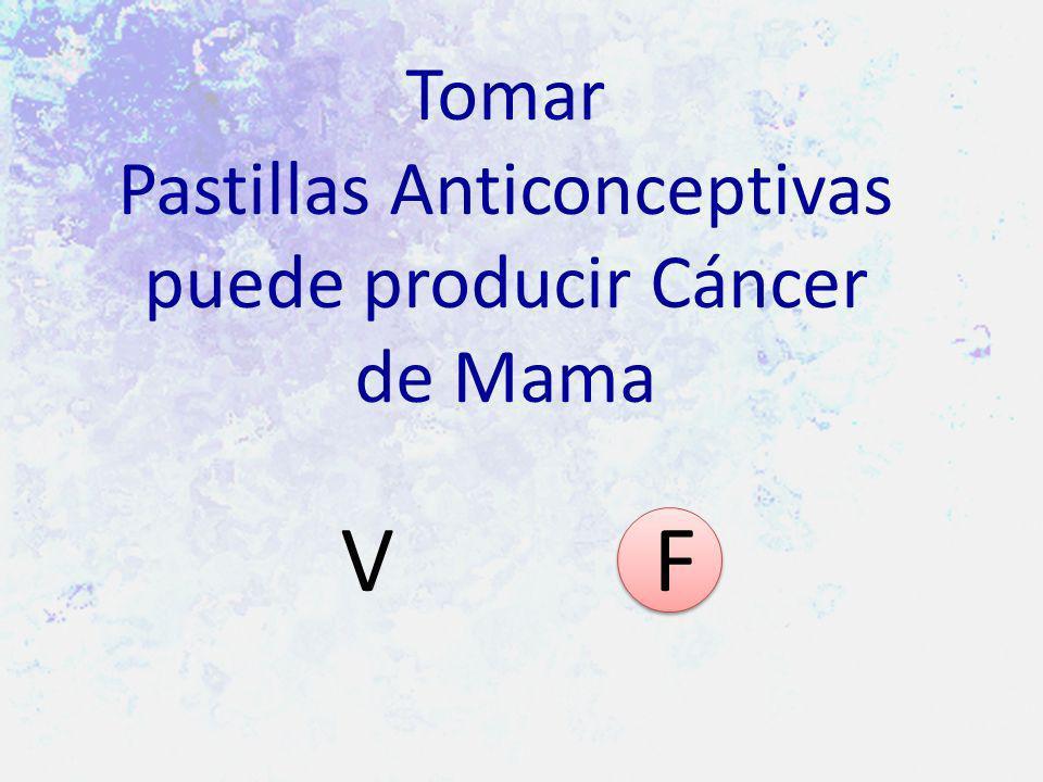 Tomar Pastillas Anticonceptivas puede producir Cáncer de Mama