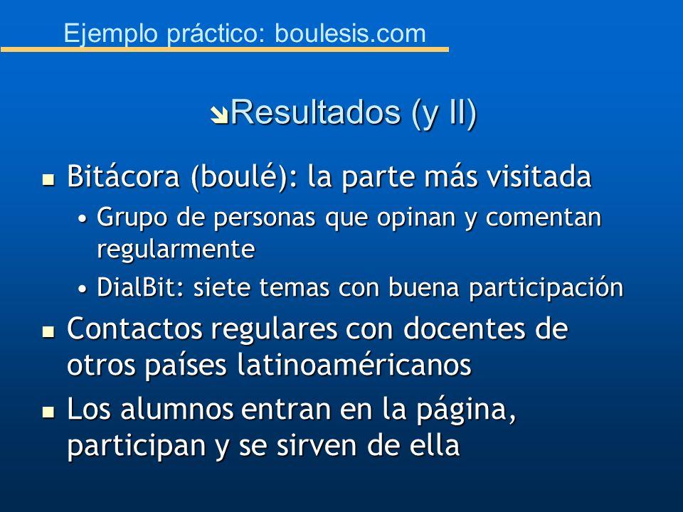 Ejemplo práctico: boulesis.com