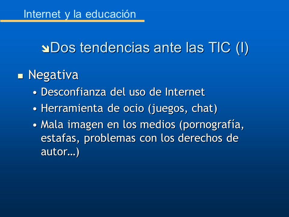 Dos tendencias ante las TIC (I)