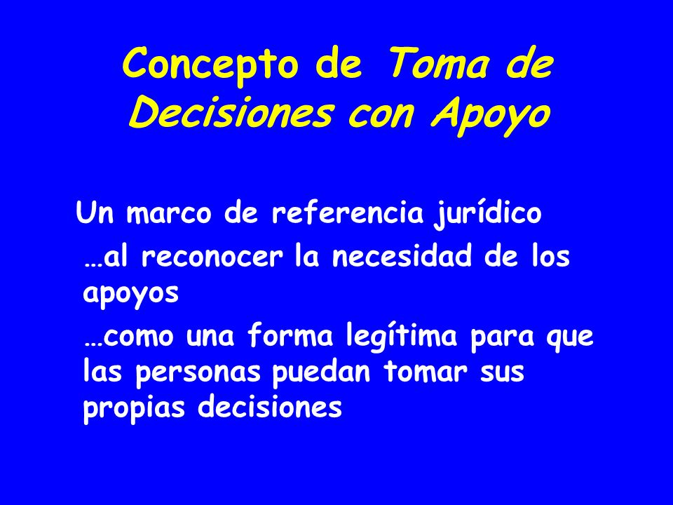 Concepto de Toma de Decisiones con Apoyo