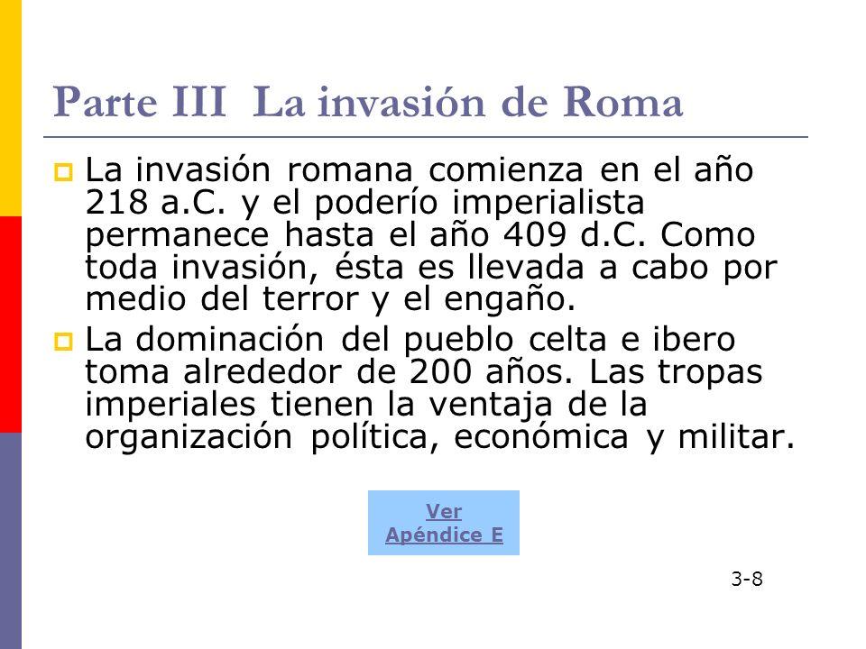 Parte III La invasión de Roma