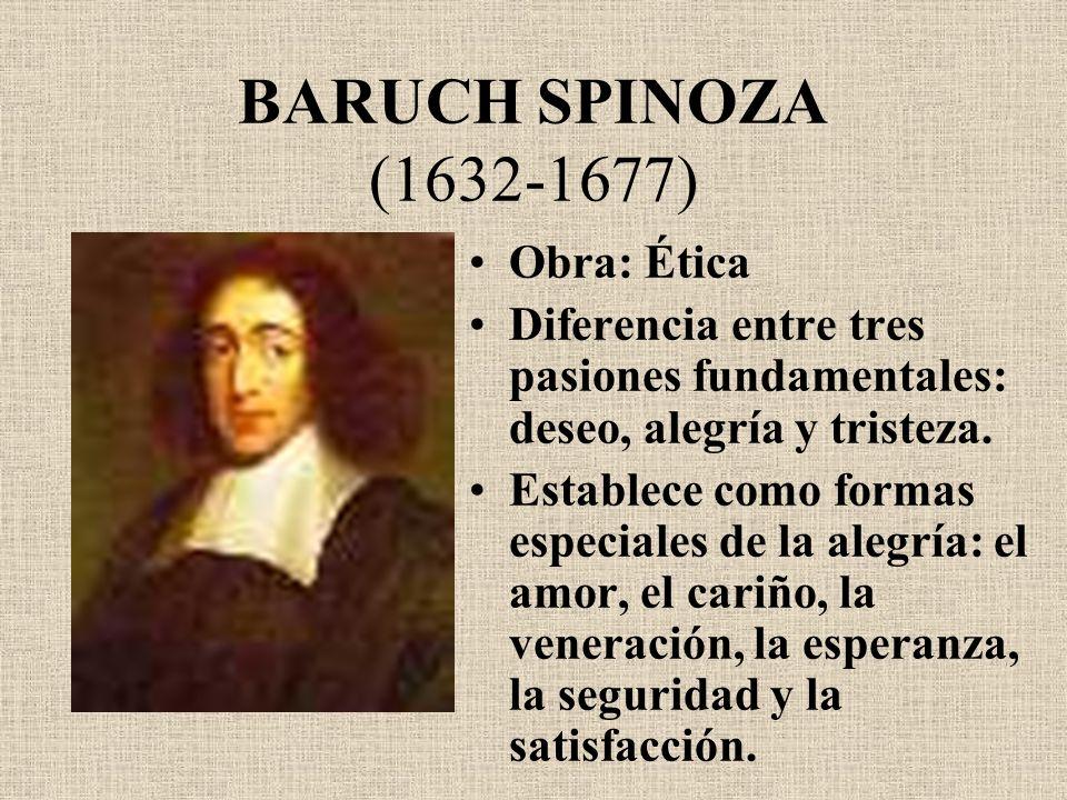 BARUCH SPINOZA (1632-1677) Obra: Ética