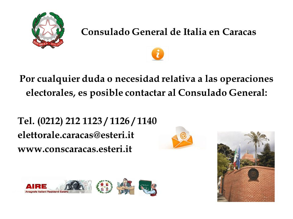 Consulado General de Italia en Caracas