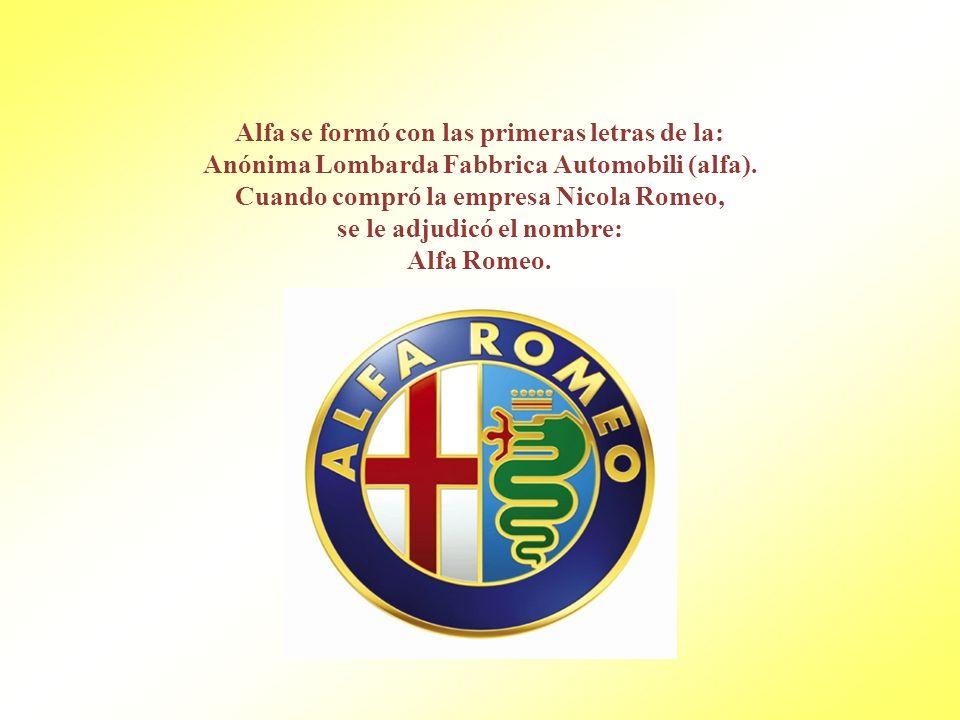 Alfa se formó con las primeras letras de la: