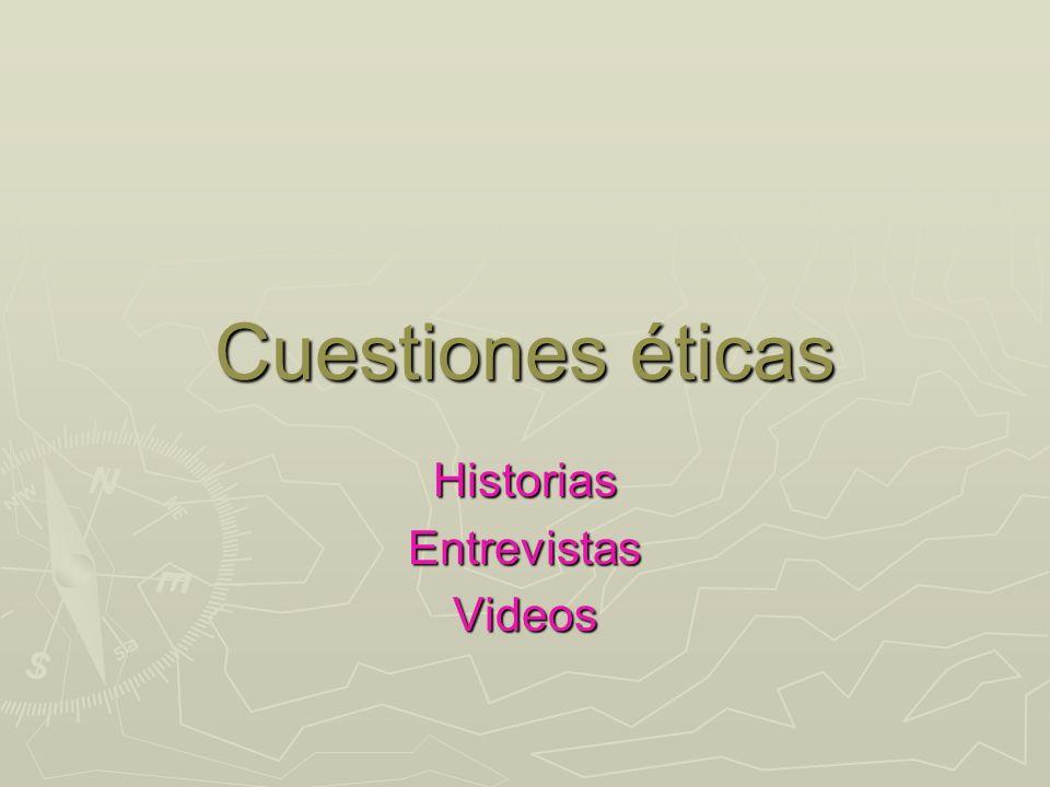 Historias Entrevistas Videos