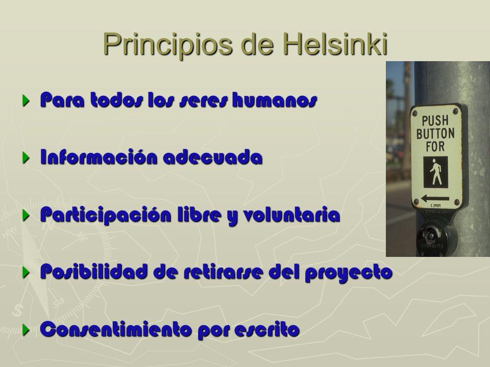 Principios de Helsinki