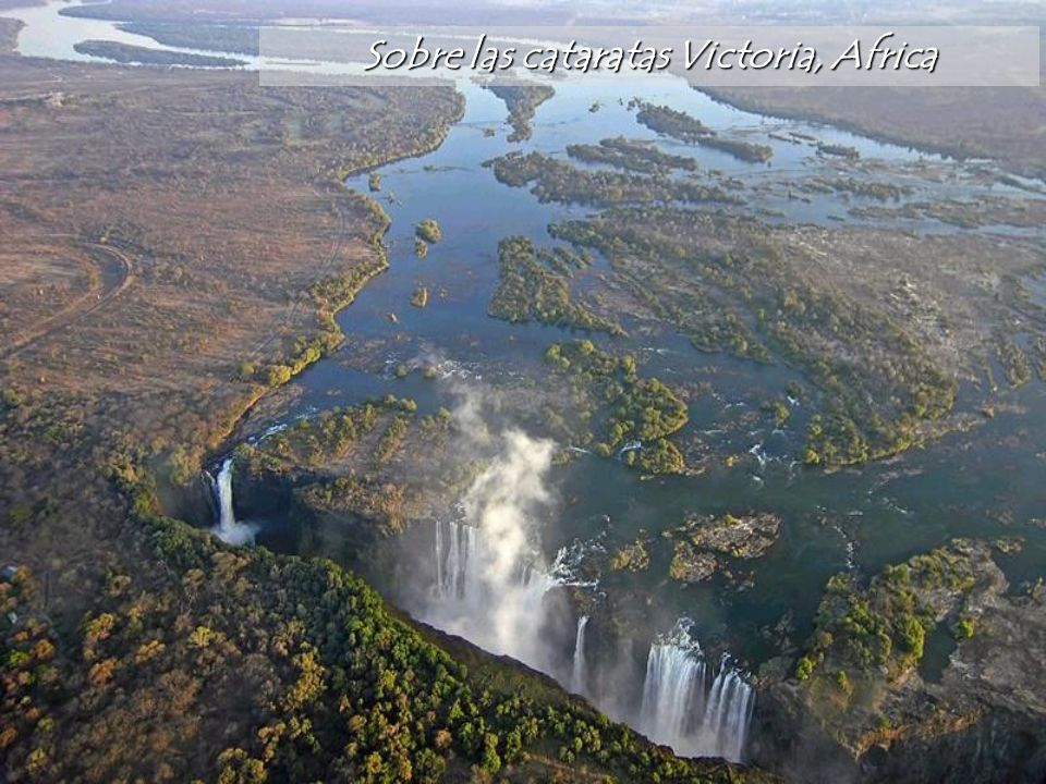Sobre las cataratas Victoria, Africa