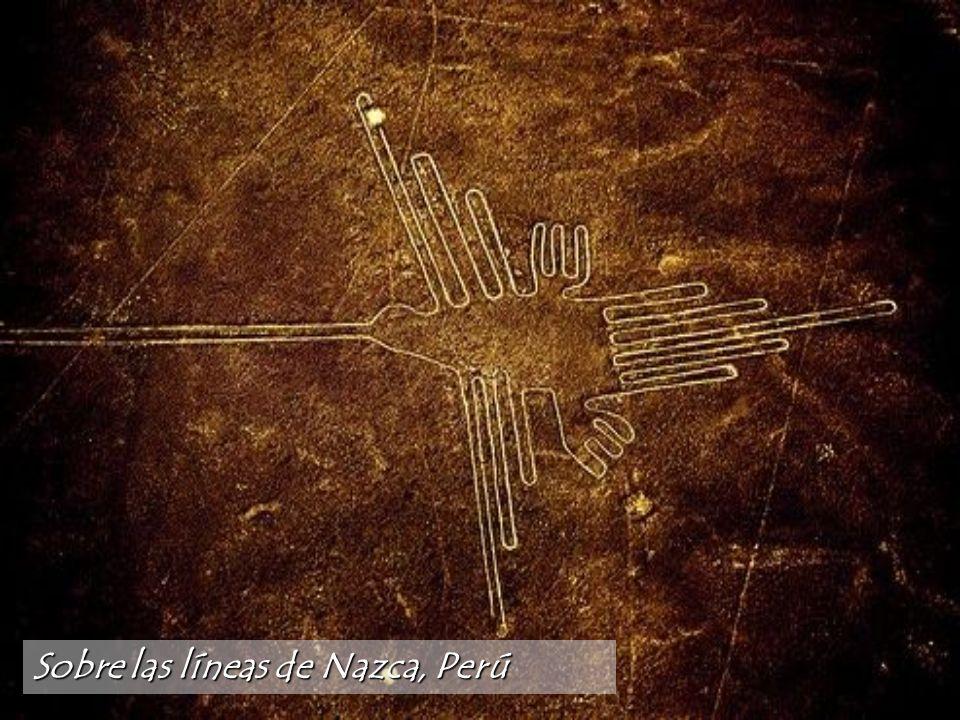 Sobre las líneas de Nazca, Perú