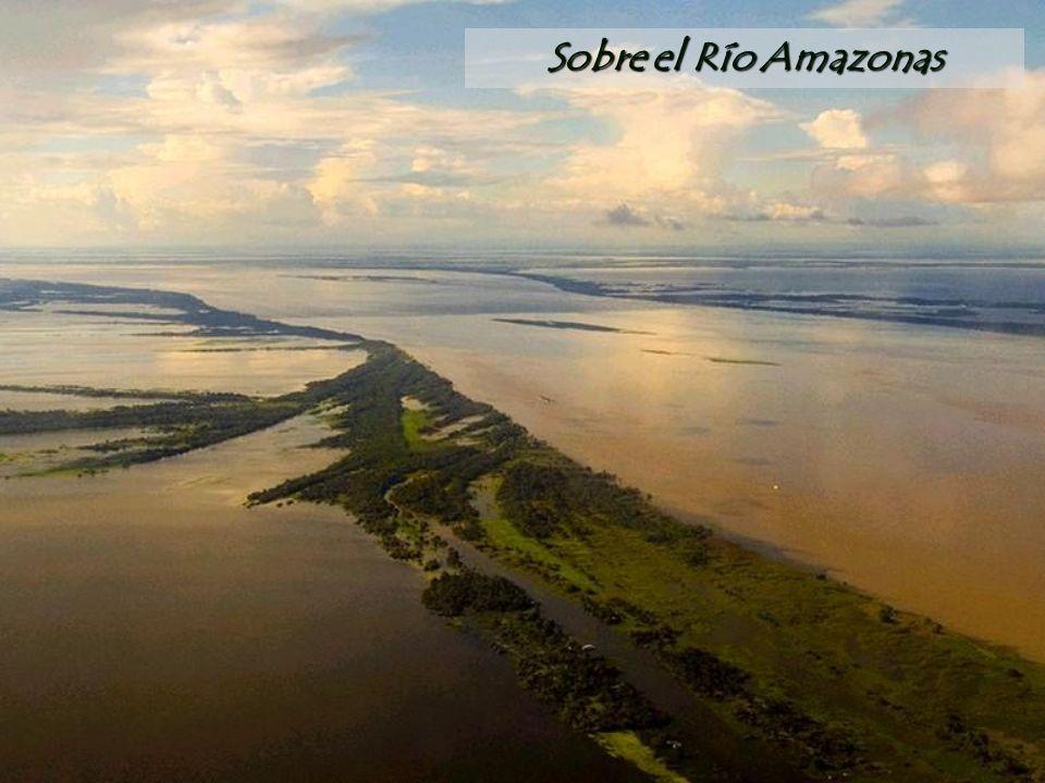 Sobre el Río Amazonas