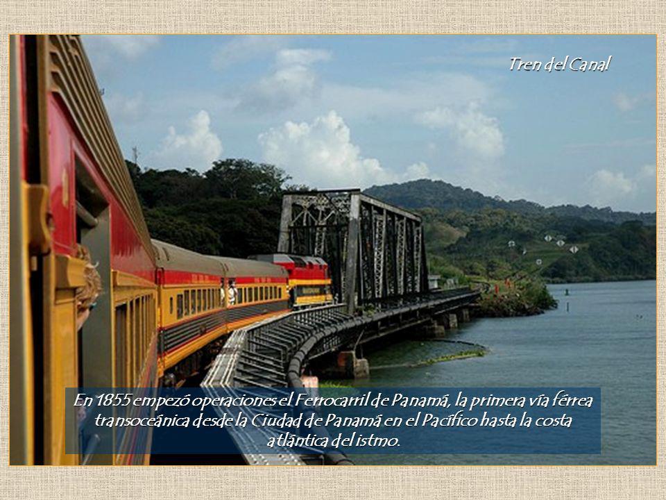 transoceánica desde la Ciudad de Panamá en el Pacífico hasta la costa